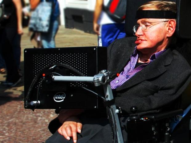 Intel quer facilitar a vida de Stephen Hawking na hora de se comunicar (Foto: Reprodução)