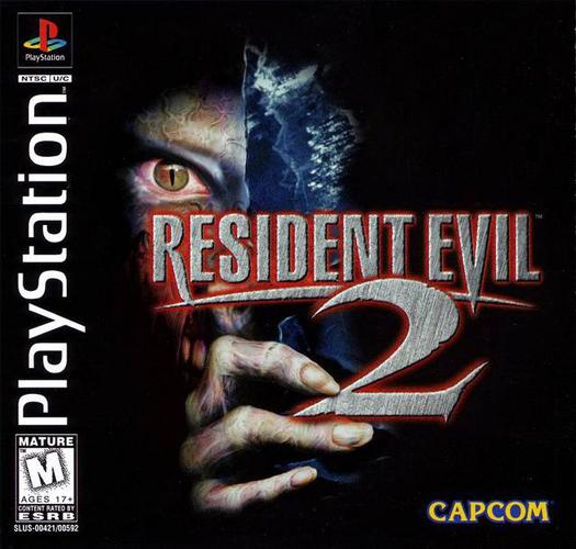 A capa de Resident Evil 2 nos Estados Unidos (Divulgação)