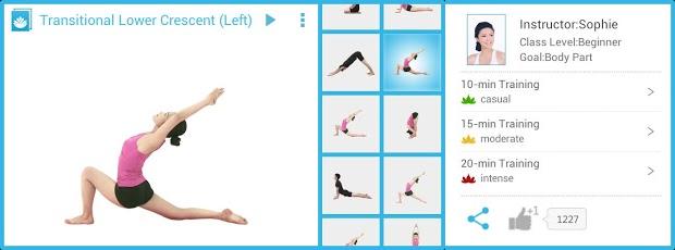 O Daily Yoga oferece diversas séries e posições (Foto: Divulgação)