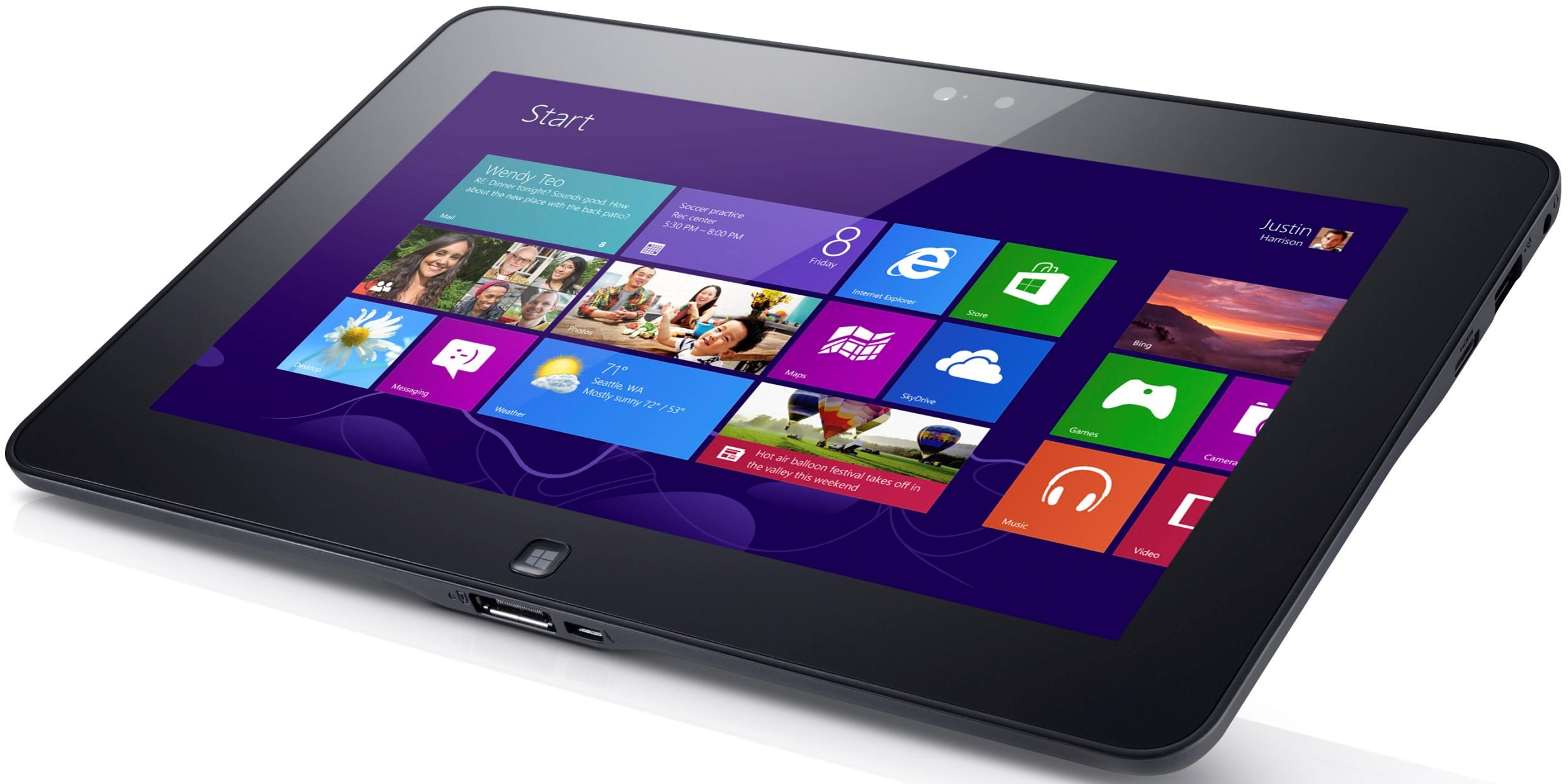 Dell Latitude 10 é o primeiro tablet com Windows 8 a chegar no Brasil (Foto: Divulgação)