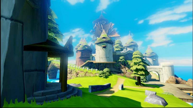 Mais um pouco do visual de Wind Waker HD (Foto: Divulgação)