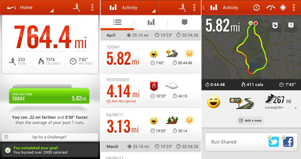 Nike+ Running monitora suas corridas e caminhadas (Foto: Divulgação)