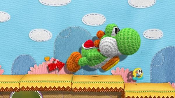 O novo jogo do Yoshi, dos criadores de Kirby's Epic Yarn (Foto: Divulgação)