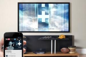 O protocolo DIAL pretende facilitar a integração entre smartphones, tablets e TVs (Foto: Reprodução/GIGAOM)