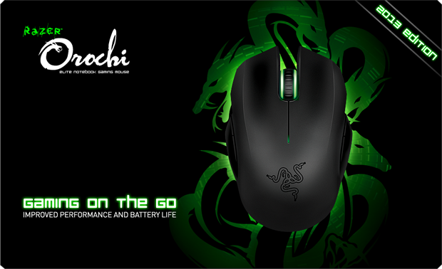 Mouse Gamer - Razer Orochi modelo 2013 (Foto: Divulgação)