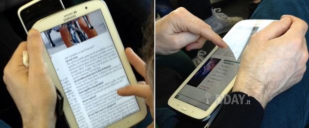 Note 8 teve fotos divulgadas por blog italiano (Foto: Reprodução 9To5Google)
