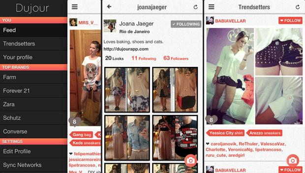 O Dujour têm recursos específicos para conteúdo de moda (Foto: Divulgação)
