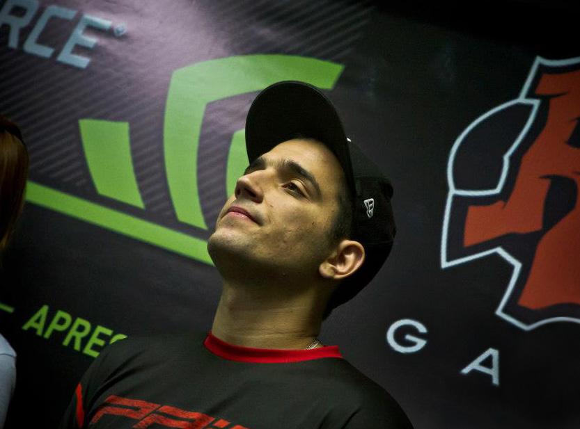 """Felipe """"brTT"""" é considerado o melhor jogador do mundo com o campeão Draven, de League of Legends (Foto: Divulgação)"""