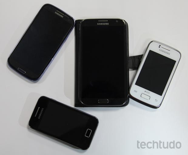 Samsung Galaxys (Foto: Marlon Câmara/TechTudo)