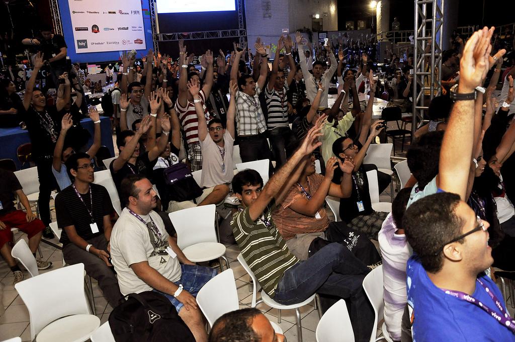 Campuseiros votaram em um concurso de piadas na última edição (Foto: Reprodução/Flickr)