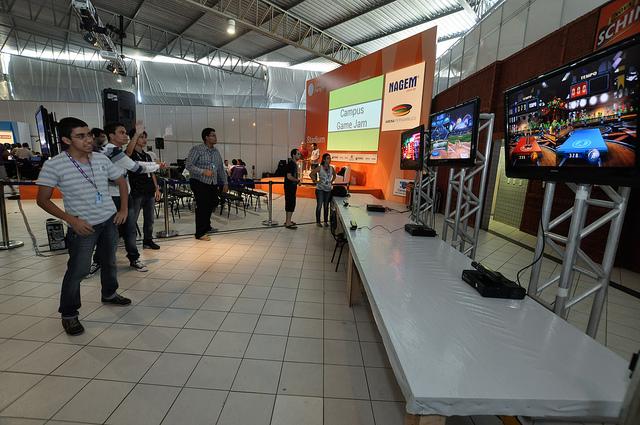 O evento também possui uma programação voltada aos Gamers (Foto: Reprodução/Flickr)