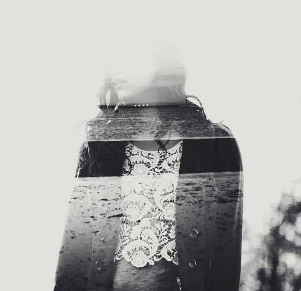 Dupla exposição dá um ar fantasmagórico às imagens (Foto: Reprodução/ Taylor Allen)