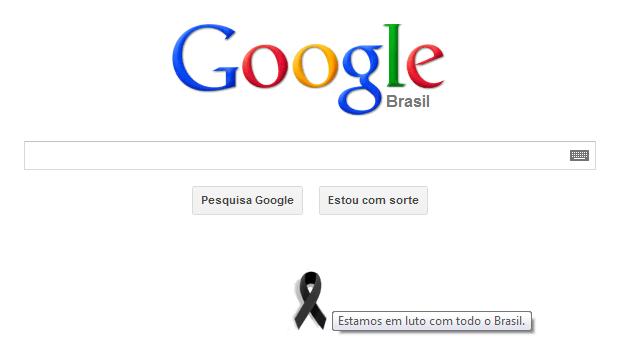 Google Brasil homenageia vítimas do incêndio em Santa Maria (Foto: Reprodução/Ricardo Fraga)