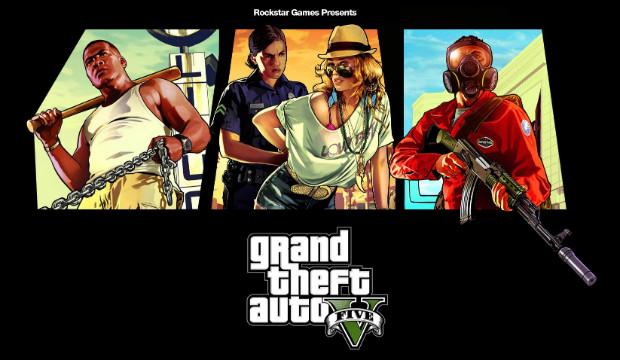 Alguns dos personagens centrais de GTA5 (Foto: Divulgação)