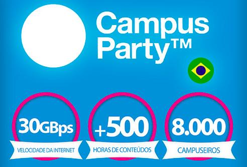 Sexta edição da Campus Party tem início nessa segunda-feira (28)  (Foto: Divulgação)