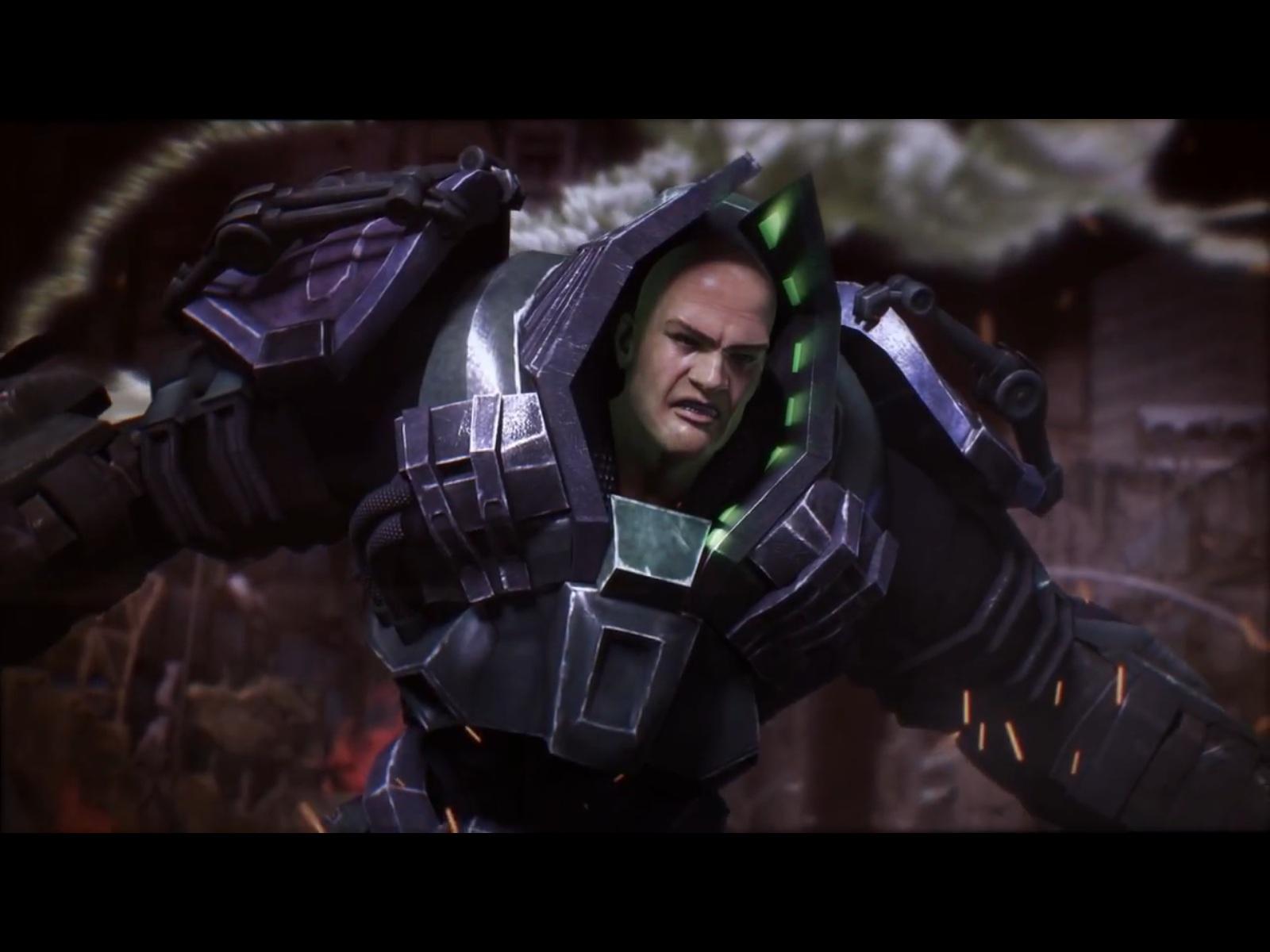 Lex Luthor é revelado em novo trailer de Injustice: Gods Among Us (Foto: Divulgação)