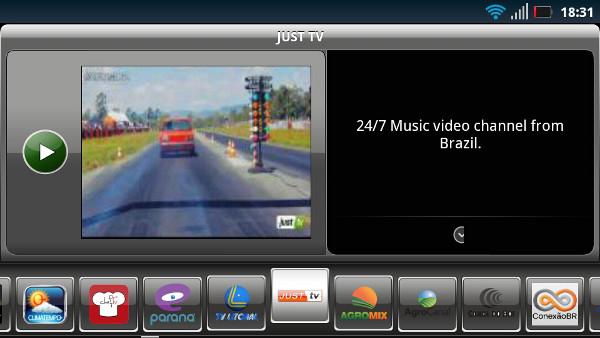 Aplicativo SPB TV permite ver TV ao vivo no Android (Foto: Reprodução/Dario Coutinho)
