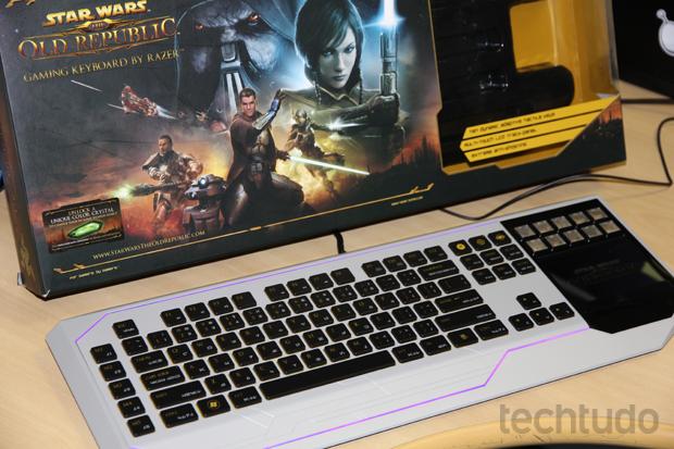 Confira os prós e contras do Star Wars: The Old Republic Gaming Keyboard (Foto: Reprodução / TechTudo)