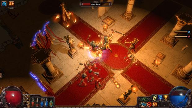 Gráficos de Path of Exile são parecidos com Diablo (Foto: Divulgação)