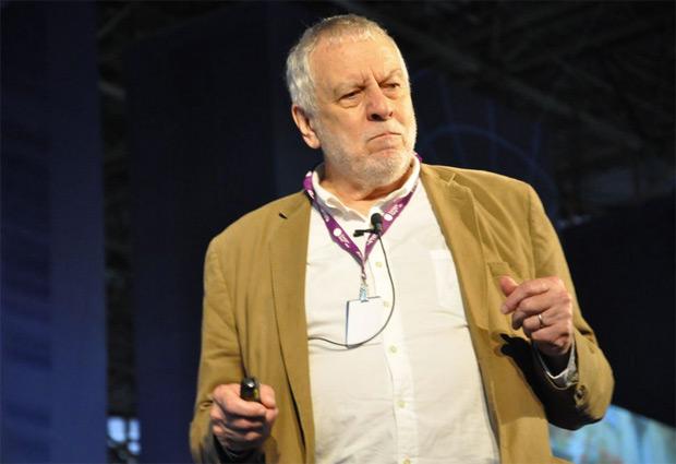 O fundador da Atari fez uma palestra muito interessante na Campus Party (Foto: Nick Ellis/TechTudo)