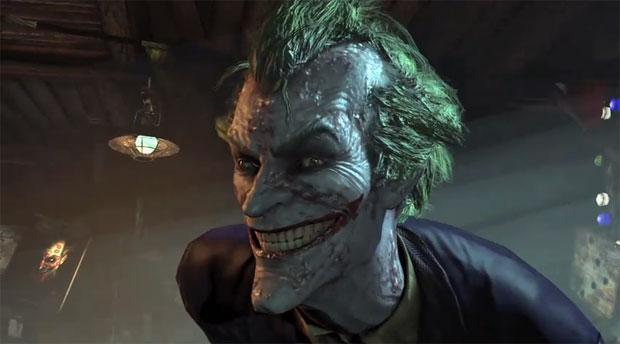 Coringa de Arkham City chega a ter o rosto deformado (Foto: Divulgação)