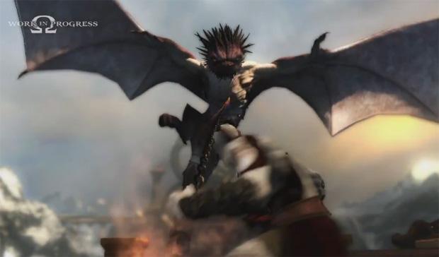 Mantícora é um dos monstros enfrentados por Kratos (Foto: Divulgação)