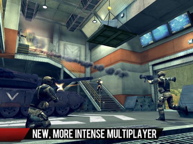 Modo multiplayer é a melhor parte de Modern Combat 4 (Foto: Divulgação)