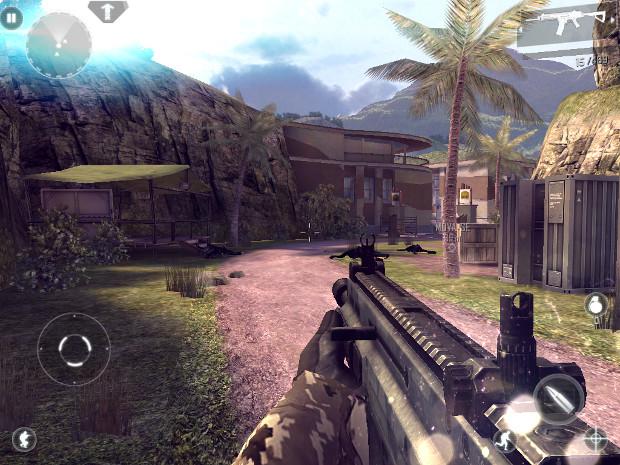 Modern Combat 4 Zero Hour tem gráficos bonitos e efeitos de física (Foto: Reprodução)