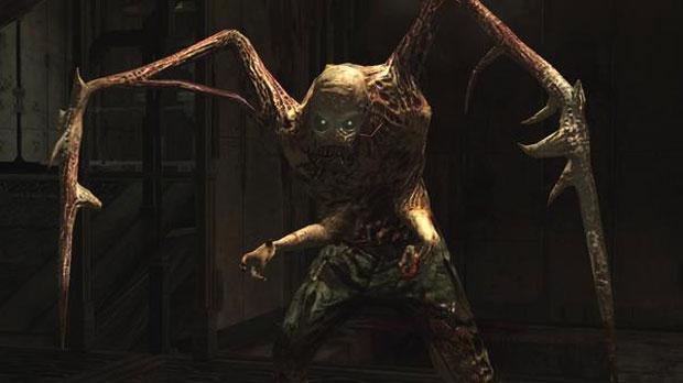 Necromorfos dão medo em Dead Space (Foto: Divulgação)