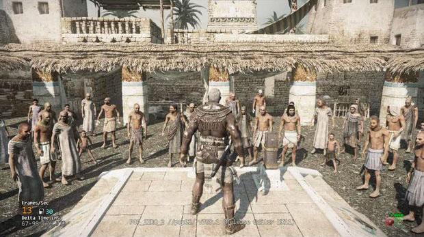 O épico Osiris promete resgatar os fãs de Prince of Persia (Foto: Divulgação)