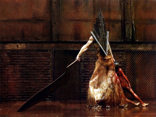 Pyramid Head no filme de Silent Hill (Foto: Divulgação)