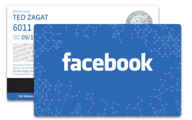 """""""Gift Card"""" ou cartões de presentes do Facebook é lançado nos EUA  (Foto: Divulgação)"""