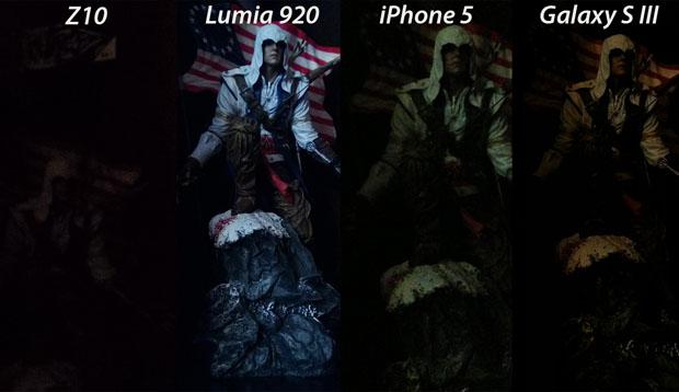 Comparação mostra resultado ruim da câmera do Z10 (Foto: Reprodução-PetaPixel)