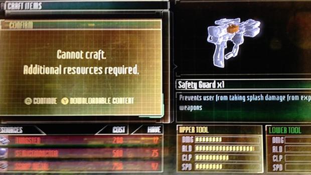 Microtransações de Dead Space 3 custam em maioria US$ 5 (R$ 10) (Foto: eurogamer.com) (Foto: Microtransações de Dead Space 3 custam em maioria US$ 5 (R$ 10) (Foto: eurogamer.com))