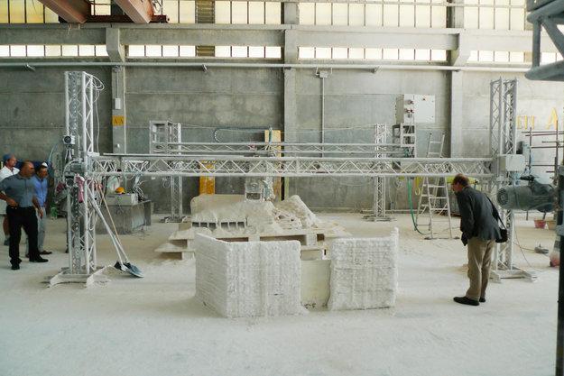 O protótipo da impressora 3D (Foto: Divulgação/ESA )