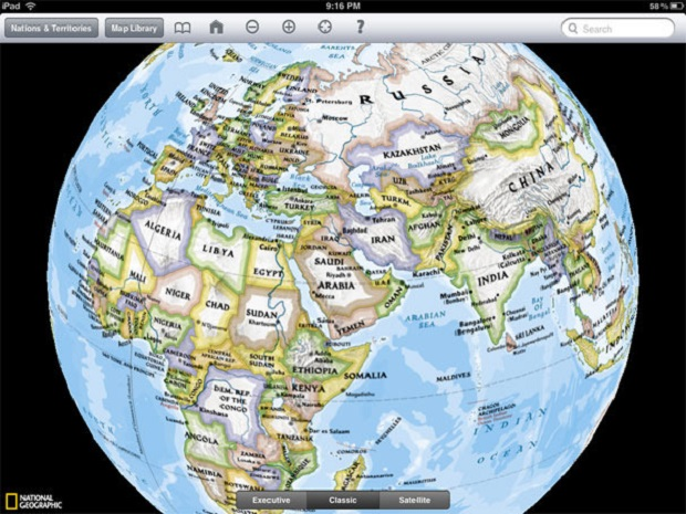 National geographic atlas of the world book