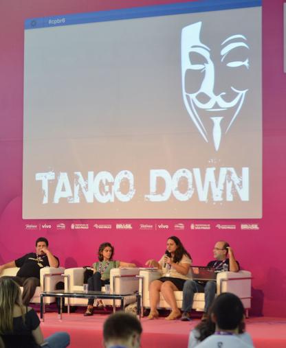 Palestra Anonymous: Ativismo Político nas Redes Digitais (Foto: Reprodução/Flickr/Fernanda Luz)