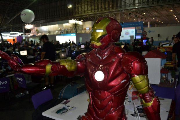 Homem de Ferro foi um casemod feito por Alexandre, também (TechTudo Pedro Zambarda)
