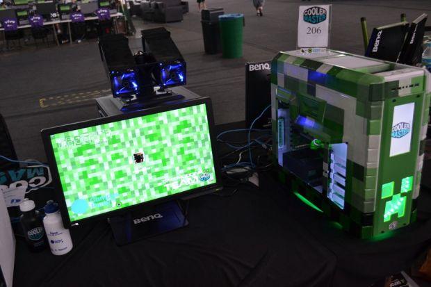 Brian Victor fez um mod baseado no jogo Minecraft (TechTudo Pedro Zambarda)