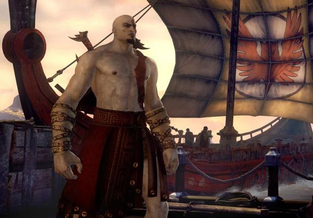 Kratos mostra sua fúria em God of War Ascension (Foto: Divulgação)