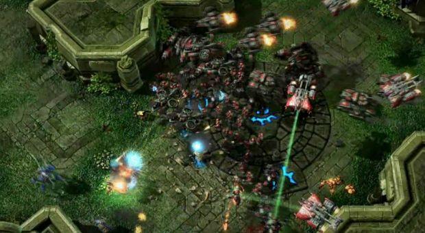 Conflito entre raças em StarCraft II (Divulgação|Blizzard)