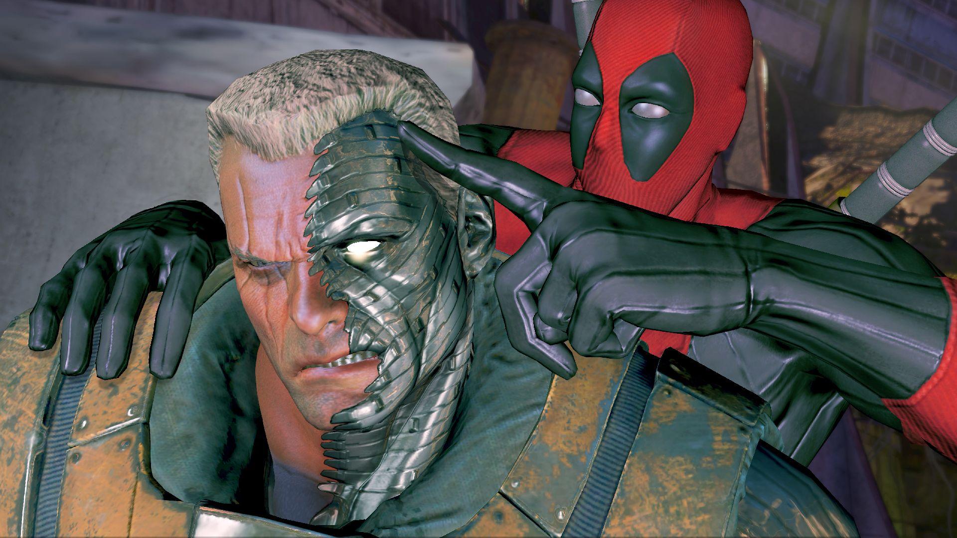 Cable faz cara de poucos amigos no novo game do Deadpool (Foto: Divulgação)