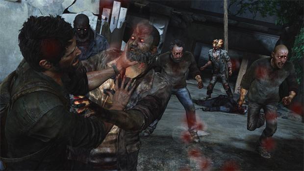 Joel precisa enfrentar zumbis assustadores no jogo (Foto: Divulgação)