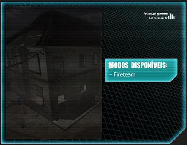 Mapa Cabin Fever (Foto: Reprodução/LevelUp Games)