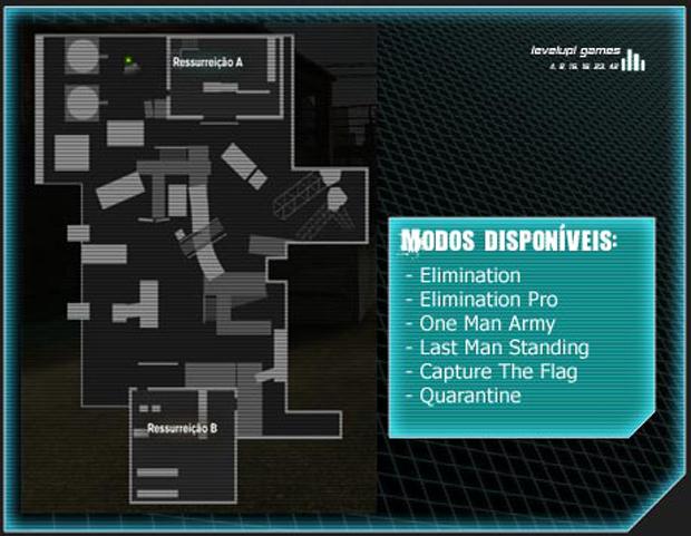 Mapa Junk Flea (Foto: Reprodução/LevelUp Games)
