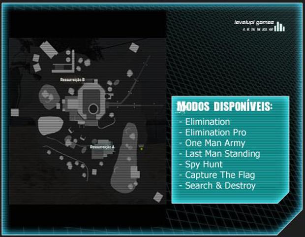Mapa Snow Valley (Foto: Reprodução/LevelUp Games)