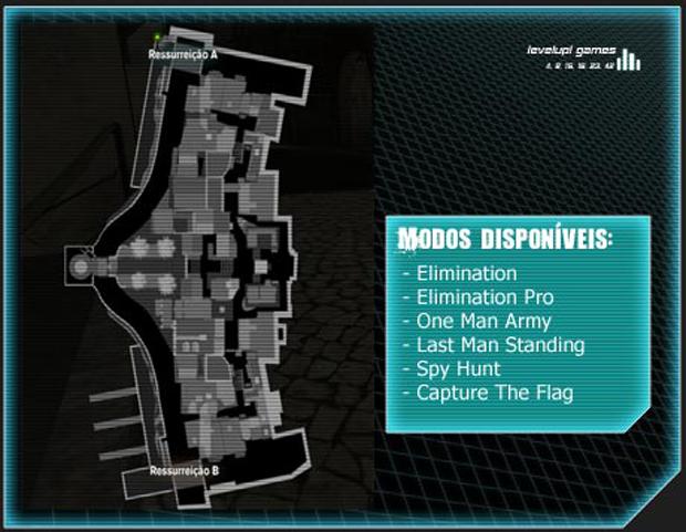 Mapa Waverider (Foto: Reprodução/LevelUp Games)