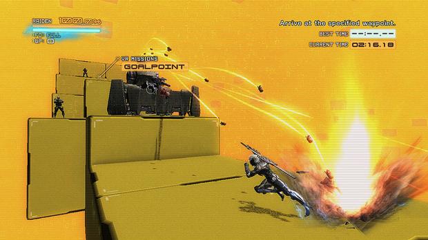 Raiden terá seus limites testados nas VR Missions do PlayStation 3 (Foto: PlayStation Blog)