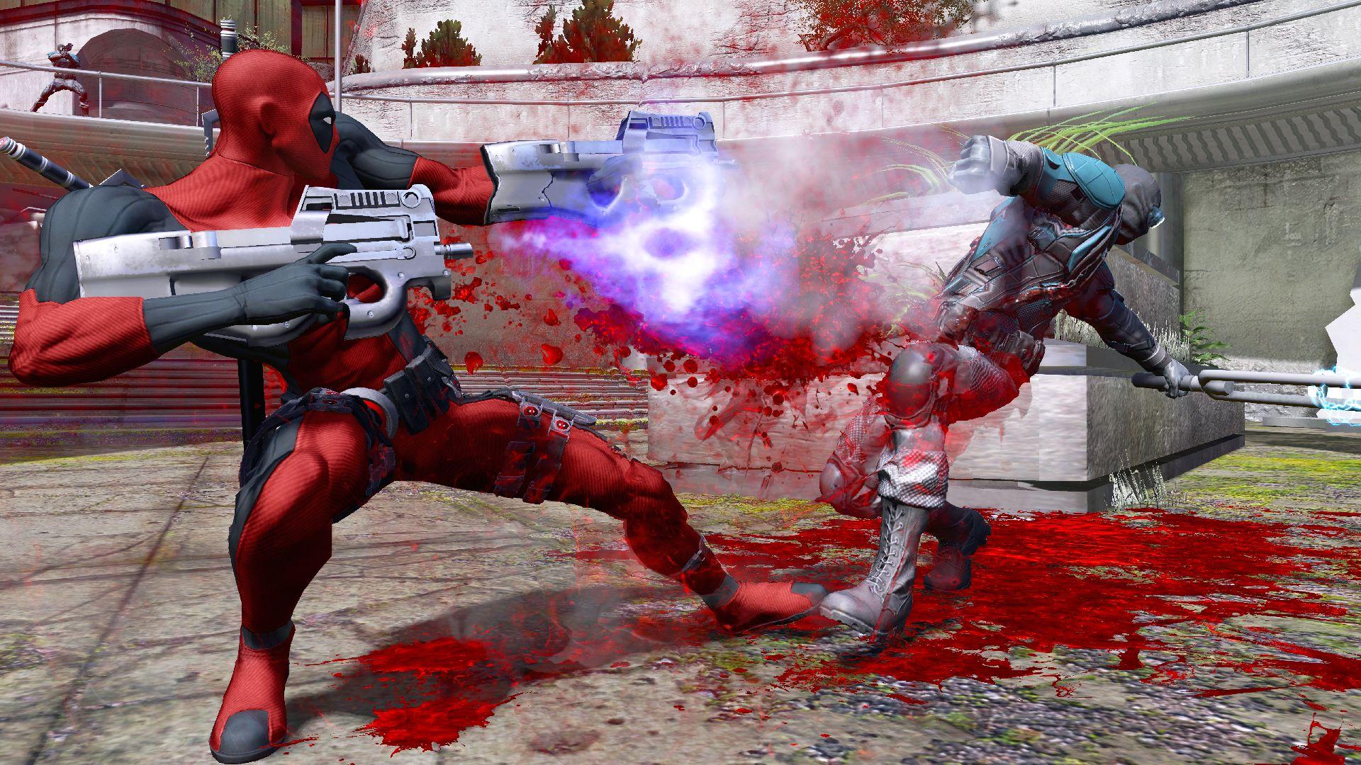 Muito sangue vai jorrar dos inimigos de Deadpool (Foto: Divulgação)