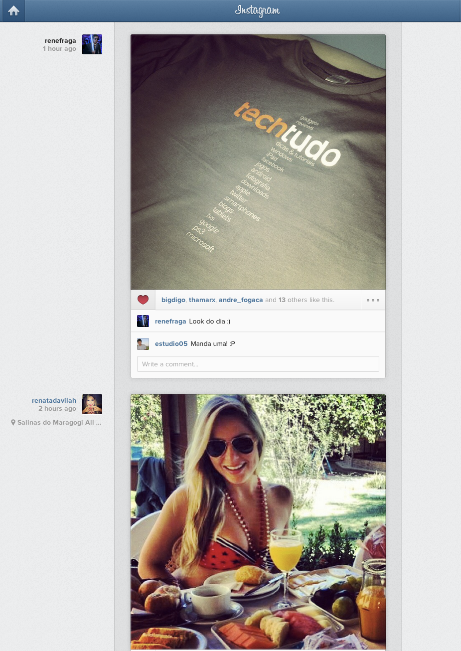 Instagram lança página web completa com fotos e ferramentas do app (Foto: Reprodução/Instagram)